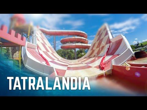 All Rides at Aquapark Tatralandia! (GoPro)