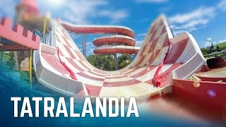 All Rides at Aquapark Tatralandia! (GoPro)