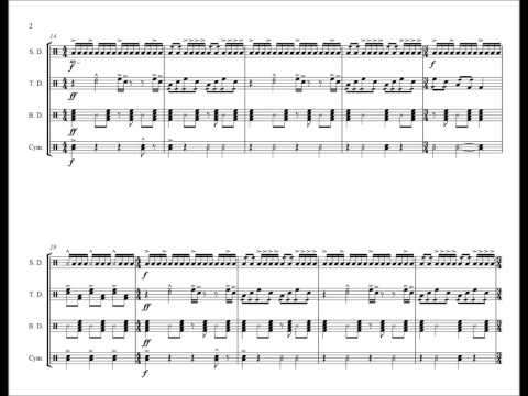 Hey Ya - Drumline Cadence