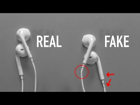 How to Identify FAKE Apple EarPods IN 5 STEPS   2018