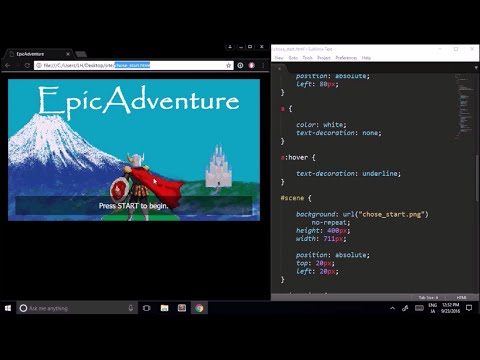 LearnHow: Make A CYOA Game Using HTML & CSS