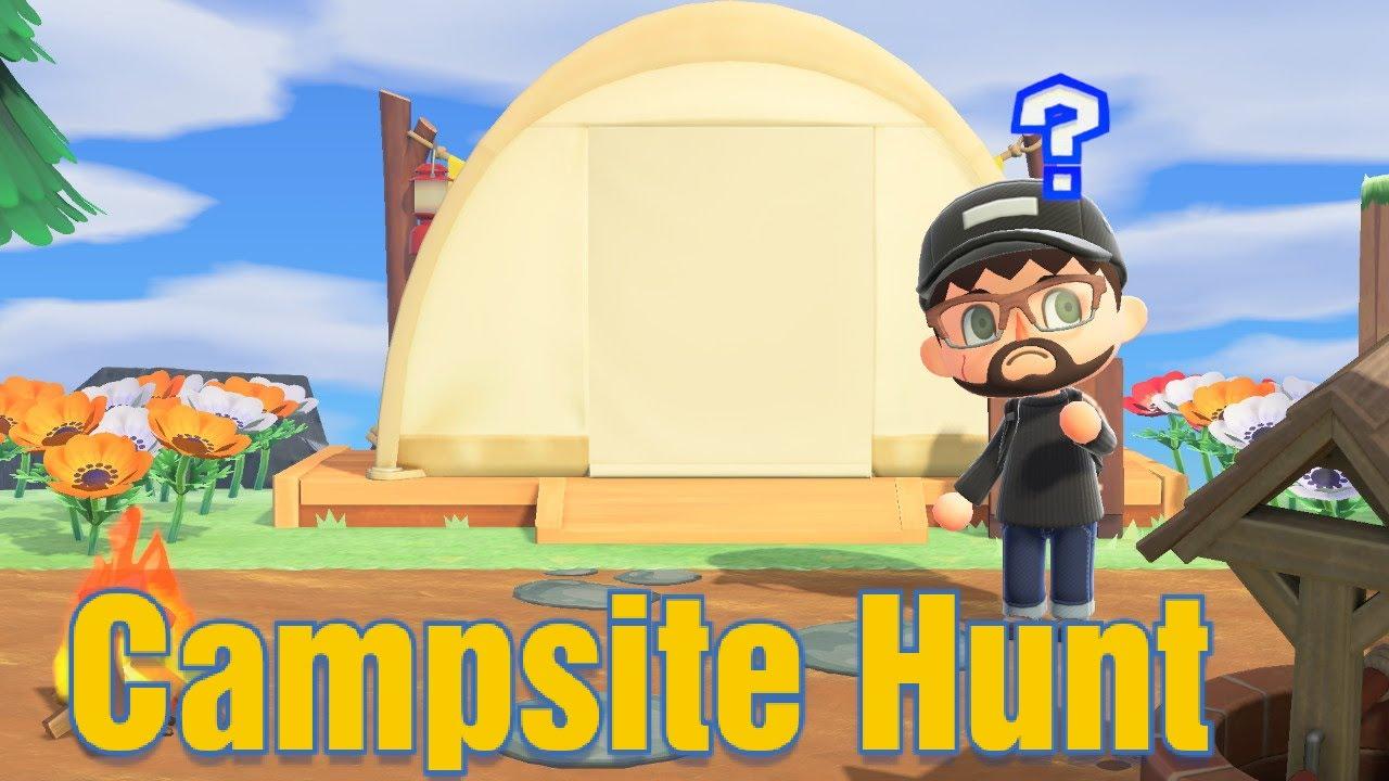 Animal Crossing New Horizons Rare Villager Campsite Hunt ...