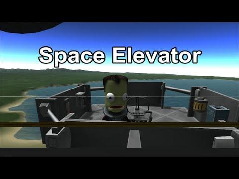 KSP Space Elevator YouTube