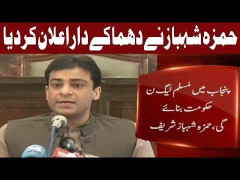 PML-N Will Form Government in Punjab: Hamza Shehbaz