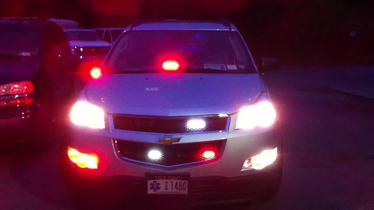 2012 Chevy Traverse Tomar & Whelen LEDs