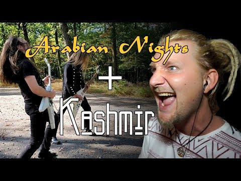 Arabian Nights/Kashmir - Epic Metal Cover Feat. Rob Lundgren And Angus Clark!