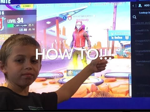 HOW TO FRIEND PEOPLE ON FORTNITE! (PC, Nintendo Switch, Mobile)
