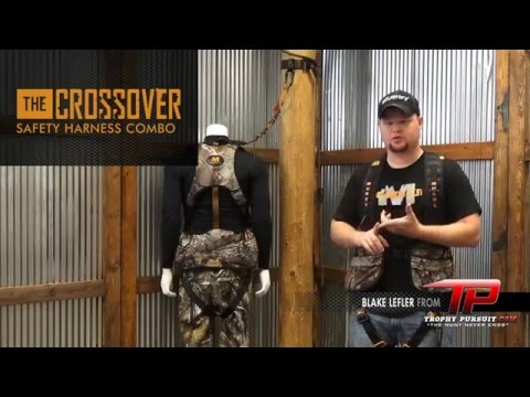 Muddy Crossover Safety Harness System Hunting Safety