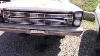 1966 Ford Galaxie at the junk yard