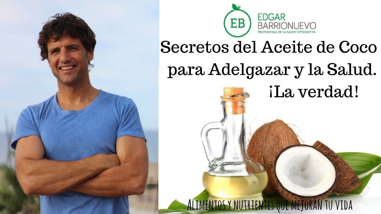el aceite de coco para bajar de peso