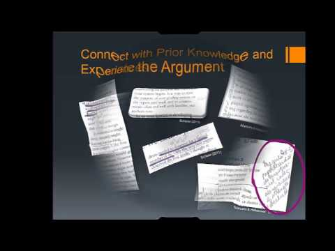 Annotating a Source: Reading and Making Meaning with Research