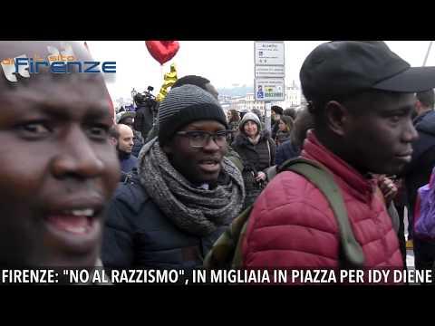 Firenze dice No al razzismo. In migliaia in piazza per ricordare Idy Diene