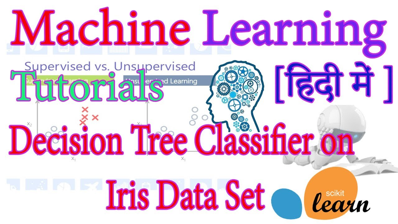 Using Decision Tree Classifier on Iris Data Set using Python Sklearn [In  Hindi]