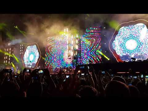 4k hymn for the weekend - colplay - Argentina, buenos aires, la plata 14/11