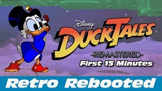 DuckTales Remastered - First 15 Minutes (PS3)