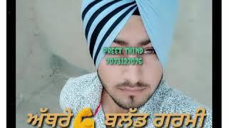 Jatt👳 Zimidar New punjabi song video😊 Status, Gurnam Bhullar Preet Thind