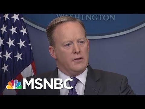 White House Ineptitude Shown In Its Spokesman Sean Spicer | Rachel Maddow | MSNBC