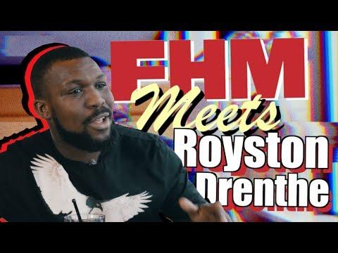 FHM meets Royston Drenthe