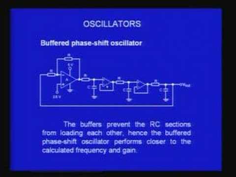 Lecture - 35 Oscillatiors