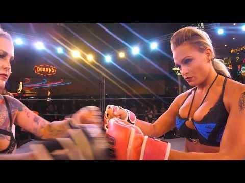 Lauren Fogle Lingerie Fighting Championships Highlights
