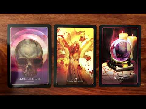 Daily Oracle Card Reading for October 31, 2017 | Halloween | Gregory Scott Tarot
