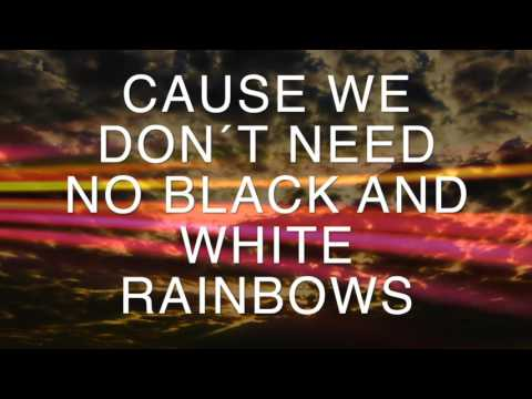 2THEUNIVERSE Black And White Rainbows