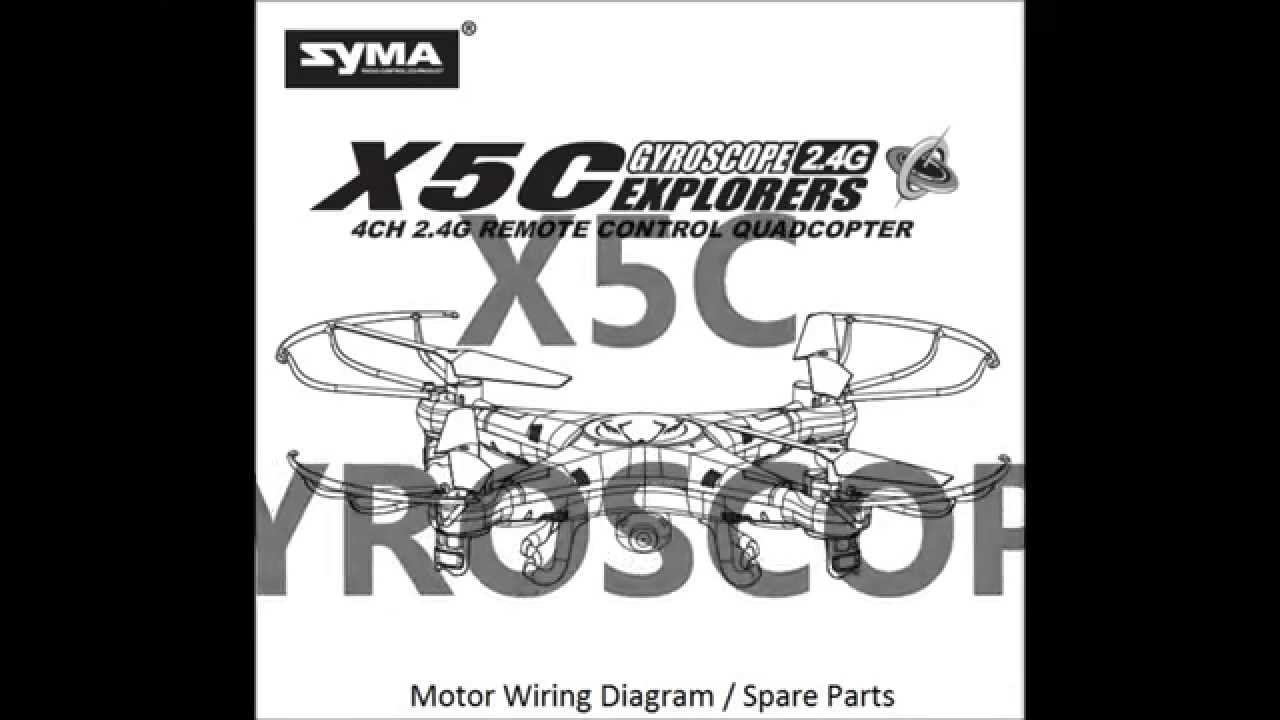 medium resolution of syma x5c motor wiring diagram