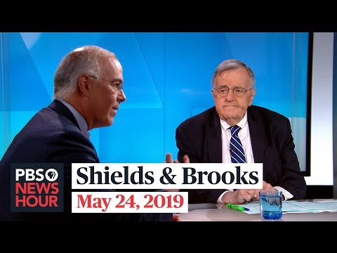 Shields and Brooks on Trump-Pelosi feud, 2020 Democrats