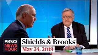 Shields and Brooks on Trump-Pelosi feud, 2020 Democrats