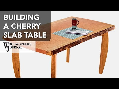 Building a Cherry Slab Dining Table | Woodworking Project