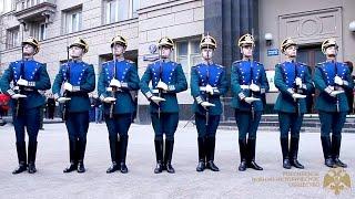 Выступление караула Президентского полка на открытии выставки «Традиции кремлёвского караула»