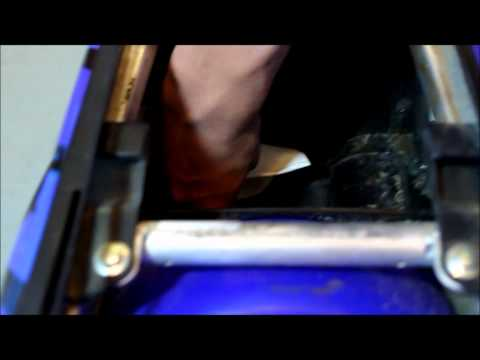 How to clean an air filter on a YZ 125