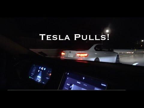 Ride Along: Tesla 90d Meets BMW 335i