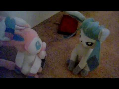 Sylveon and Glaceon reunite!