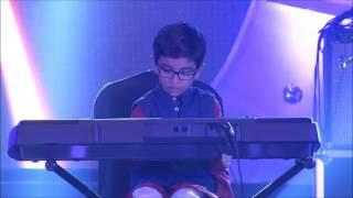 TUM HI HO | Aashiqui 2 | Keyboard by Atharv | 5 years old kid