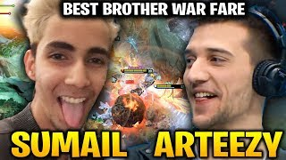 SUMAIL vs ARTEEZY - BEST BROTHER FIGHTING FOR THE WIN