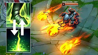 KOG'MAW E SWAPPED WITH R?! Ult at Level 1, 3 E at ONCE! - Epic LoL Bug