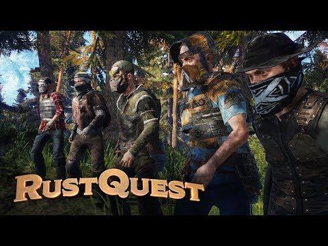 RustQuest | Ep. 1 - SENTINEL'S POINT (Rust D&D)