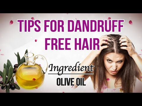 How to Get Rid of Dandruff Home Remedies | Dandruff Treatment at Home | Olive oil