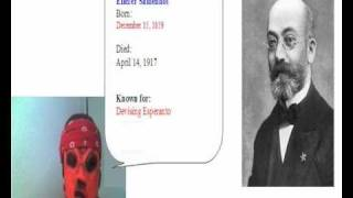 150. Birthday of L. L. Zamenhof (Inventor of Esperanto).wmv