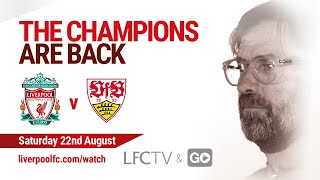 Pre-Match Show: Liverpool v VfB Stuttgart | Build-up from Austria