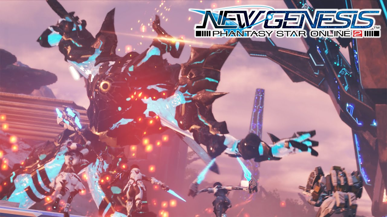 Phantasy Star Online 2: New Genesis Teaser Trailer