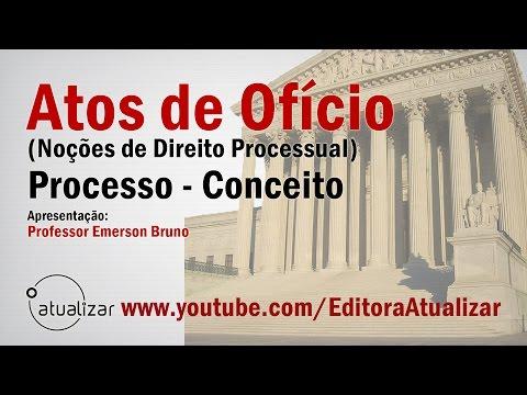 Atos de Ofício - Aula 01 (Processo: Conceito)