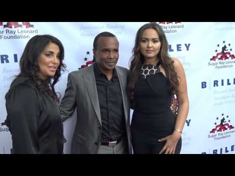 Sugar Ray Leonard and his family - EsNews Boxing