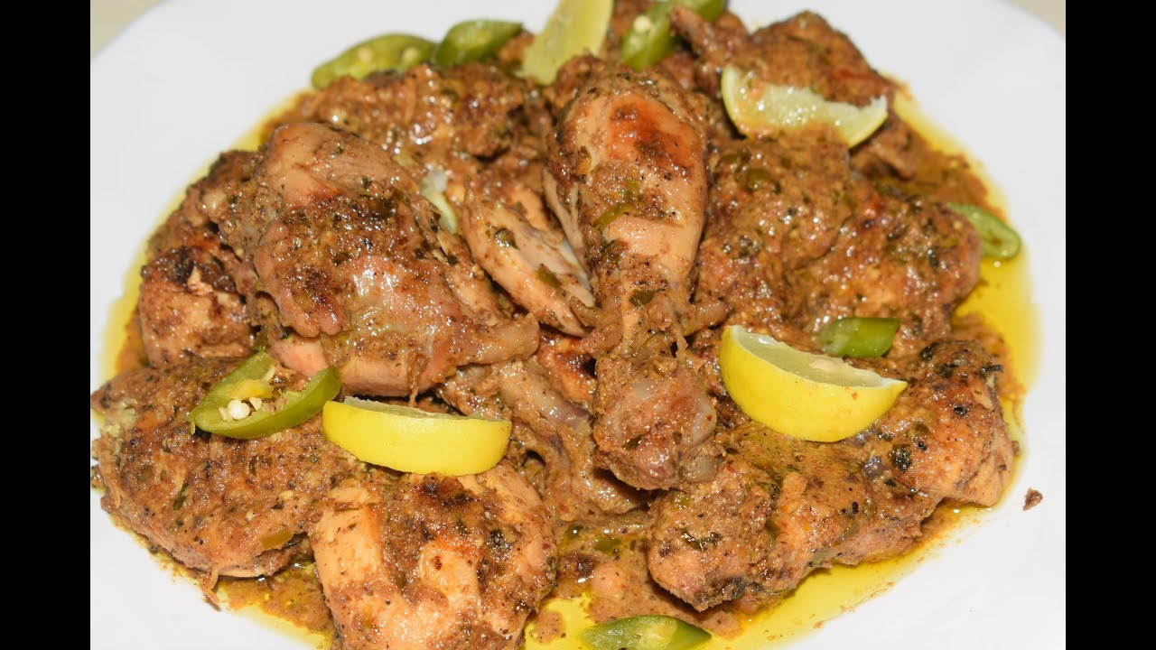 Chicken Afghani With Lite Gravy New Chicken Recipe Youtube