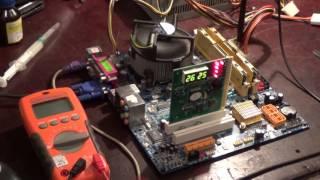 Материнская плата Gigabyte GA-945GCMX-S2. Проблемы с процессором и SATA-портами. Часть 2