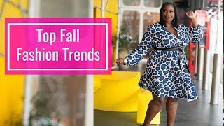 Top Plus Size Fall Fashion Trends/ Try On/ 2018