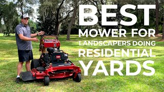 Toro Grandstand Review - Best Stand-On Mower for Landscapers!