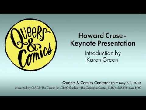 Queers & Comics: A Keynote with Howard Cruse