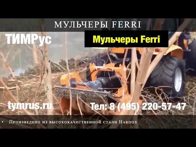 Мульчеры FERRI